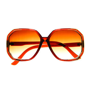 Womens Retro Vintage Style Large Oversized Sunglasses O47