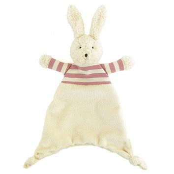 Baby bunny soother toy blanket - JELLYCAT - original babies gift ideas