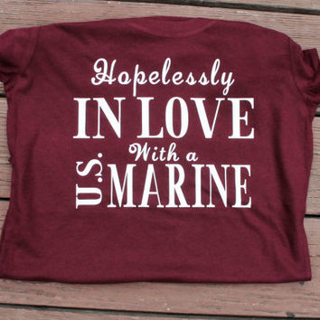 Hopelessly in love with a U.S. Marine