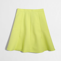 Factory flared skirt : Mini & A-Line | J.Crew Factory
