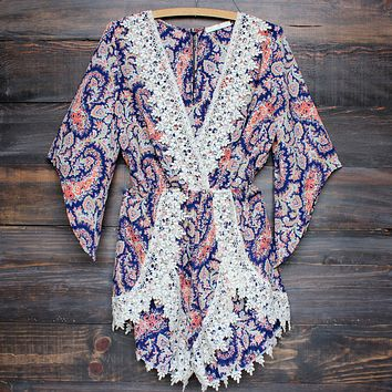 dream catcher paisley romper