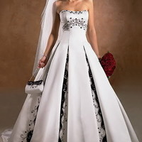 Gothic Wedding Dresses Show Your Personality from Wedding Planner