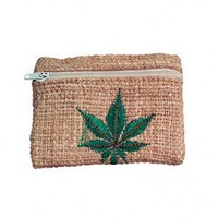 Square Hemp Wallet - Grasscity.com