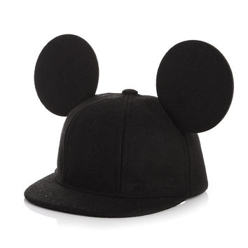 Choice of Boys or Girls Adjustable Mouse Ears Baseball Hats
