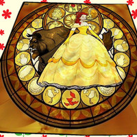 Beauty The Beast Moon Disney Poster Kids Cover Birthday Gift Christmas Quilts