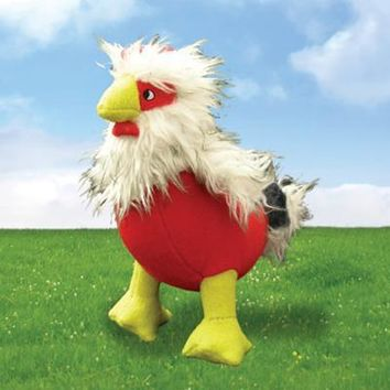 Mighty Dog Toys Clucky Chick 9 ""