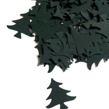 Christmas tree confetti - woodland wedding decor by PartyParts - 100 Pieces