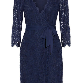 Diane von Furstenberg - Julianna lace wrap dress