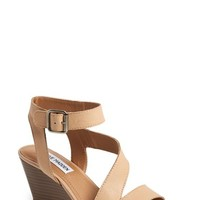 "Women's Steve Madden 'Stipend' Wedge Leather Sandal, 2 1/2"" heel"