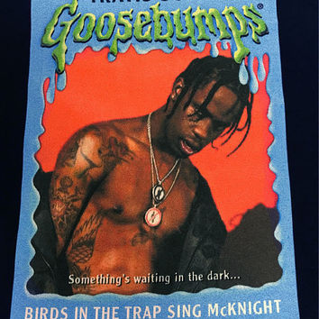 Travis Scott Goosebumps Cotton Shirt