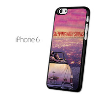Sleeping With Sirens Purple Sky Car iPhone 6 Case | Tegalega