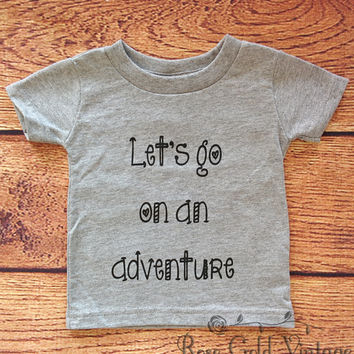 Let's go on an Adventure Tee (Infant)