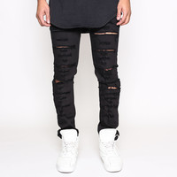 Golden Denim - Skinnies - Black Caviar