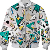 WALALA BOMBERJACKET created by Camille Walala | Print All Over Me