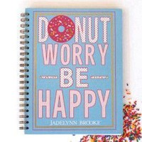Donut Worry Spiral Journal by Jadelynn Brooke