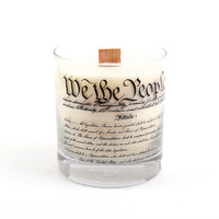 Constitution Candle - Oak and Amber