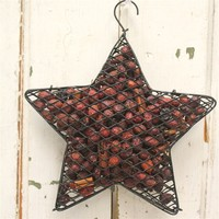 Primitive Scented Rosehips Star & Oil Refresher Bottle