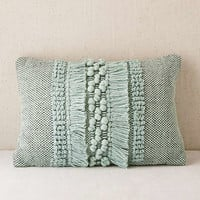 Britta Center Shag Bolster Pillow | Urban Outfitters