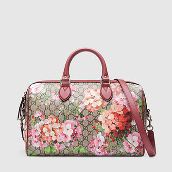 Gucci - Blooms GG Supreme Top Handle Bag 409527KU2IN8693