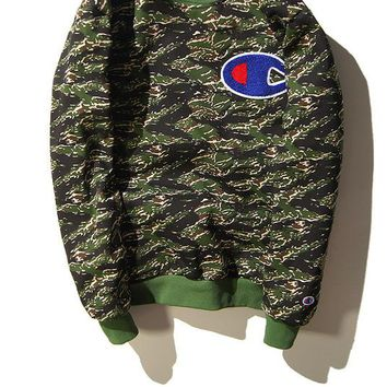 Champion Camouflage Hoodies [103856275468]
