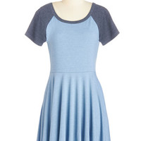 Revel the Playing Field Dress in Sky