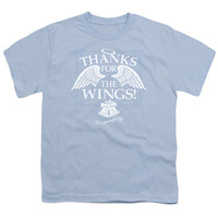 IT'S A WONDERFUL LIFE/DEAR GEORGE-S/S YOUTH 18/1-LIGHT BLUE