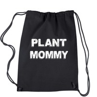 Plant Mommy Drawstring Backpack