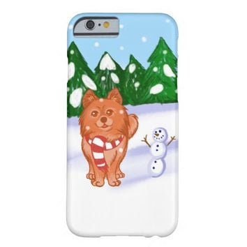 Snow Puppy Barely There iPhone 6 Case