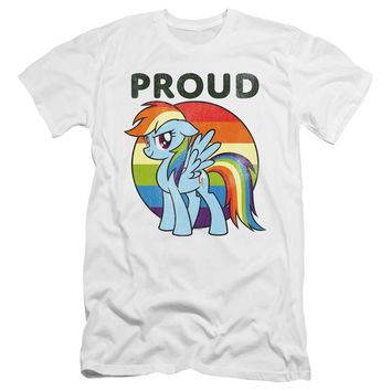 My Little Pony Slim Fit T-Shirt Proud White Tee