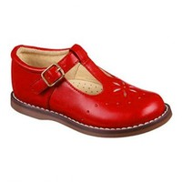 Vintage Inspired Girls Clothes Little Girls red shoes | Vindie Baby