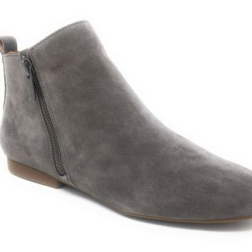 Lucky Brand Glexi Titanium Oiled Suede Ankle Boots