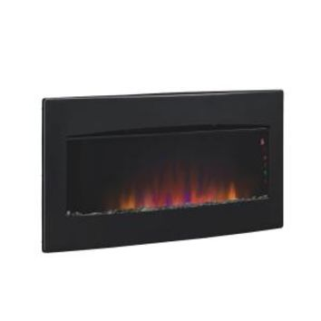 Chimney Free, Serendipity 35 in. Wall-Mount / Tabletop Electric Fireplace, 34HF600GRA at The Home Depot - Mobile