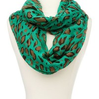 Lively Leopard Infinity Scarf: Charlotte Russe