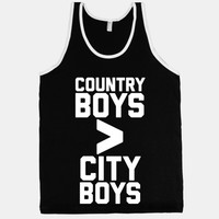 Country Boys > City Boys