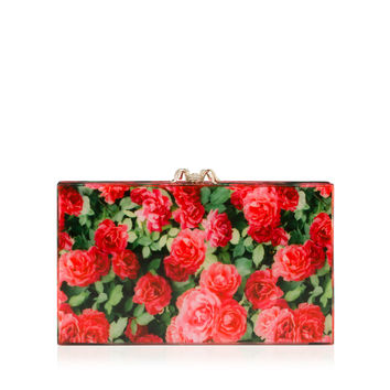 Charlotte Olympia Women's Designer Clutch Bags | Charlotte Olympia - ROSE GARDEN PANDORA