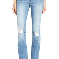'Natalie' Distressed Bootcut Jeans (Poise)