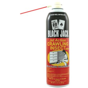 Black Jack, Jet Action Crawling Insect Spray, 12.75 oz,1