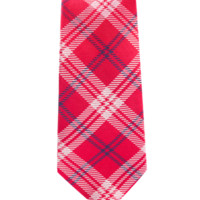 Perry Plaid - Red