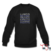 Harry Potter Spells sweatshirt