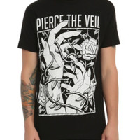 Pierce The Veil Rose Hands T-Shirt