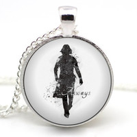 Severus Snape Necklace, After all this time? Always Necklace, Alan Rickman, Harry Potter Jewelry, Book Necklace, Snape Always #2