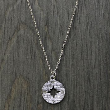 """Compass"" Necklace"