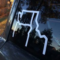 3 State Vinyl Decal | The Great PNW
