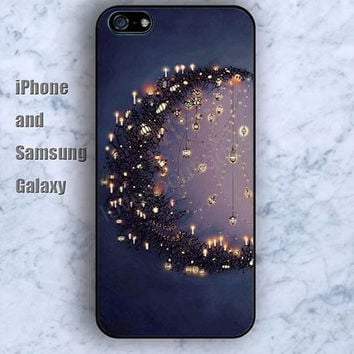 Moon firefly iPhone 5/5S case Ipod Silicone plastic Phone cover Waterproof