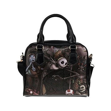 Angelinana Custom Women's Handbag Nightmare Before Christmas 4 Fashion Shoulder Bag