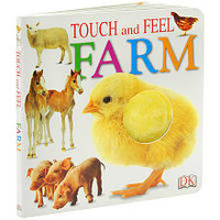 Touch and Feel Board Book: Farm