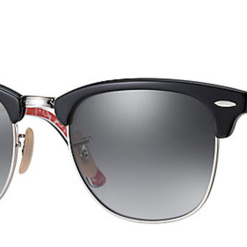 Ray-Ban RB3016 101671 49-21 CLUBMASTER CLASSIC Black sunglasses | Official Online Store US