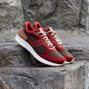 HCXX Saucony Shadow 5000 EVR  Knit  Red