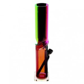 Acrylic ice bong 4 colors striped - Acrylic Bongs - Bongs and Waterpipes - Smoking Pipes - Grasscity.com