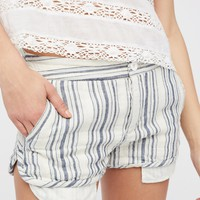 Free People Night Moves Striped Short